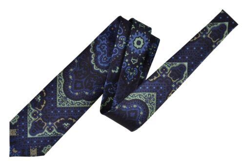 Tom ford corbata xtm geométricamente azul oscuro sale!! seda