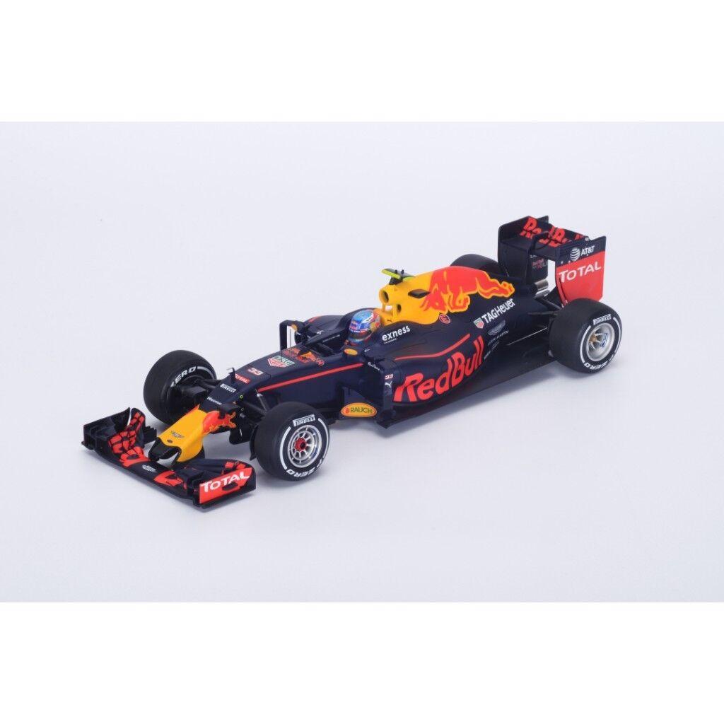 SPARK rosso BULL Racing RB12 Winner GP Spain 2016 Max Verstappen  18S240 1 18