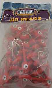 Sea Striker BSWG14100-9 Got-Cha Red Jig Head 100CT 11327