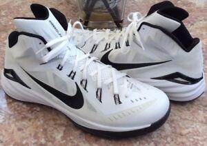 d6b8f14294be3 New Nike Hyperdunk Lunarlon 2014 Men s White Basketball Shoes Size18 ...