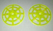2x Lego Sat Schüssel neon grün 6x6 Radar Gitter Schild Schirm 6453 30234 4285b