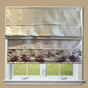 bella lined roman blinds with fittings great quality. Black Bedroom Furniture Sets. Home Design Ideas