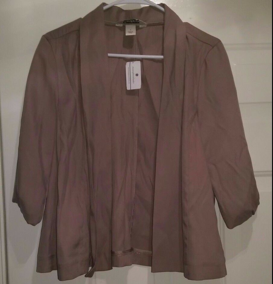 Christopher & Banks NWT damen braun Cover Shirt Top Größe S