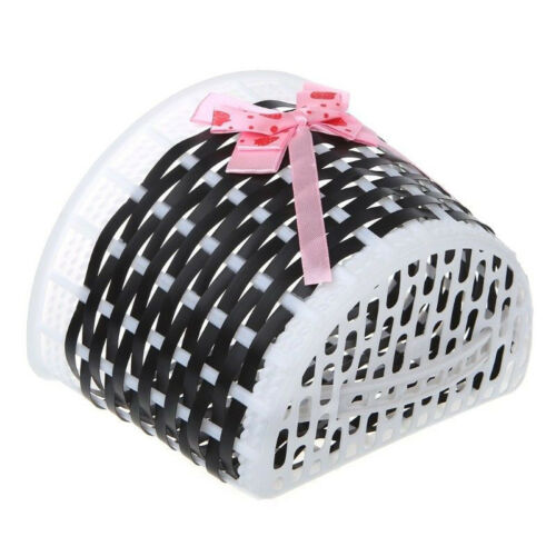 Bicycle Scooter Basket Children Bike Plastic Knitted Front Bag