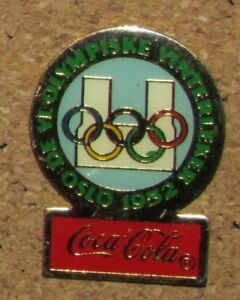 089090b2f94 Image is loading D12-PIN-VINTAGE-COCA-COLA-OLYMPIC-COKE-OLYMPISKE-
