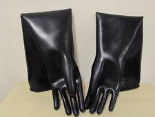 Rubber Gloves,Chemiehandschuhe,Gummihandschuhe,Latexhandschuhe,Größe 8,5,1,1 mm