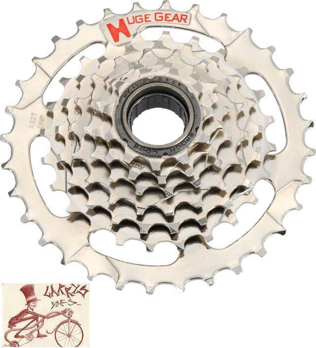 DNP EPOCH 8 SPEED  11-30T NICKEL PLATED MTB-HYBRID-CRUISER BICYCLE FREEWHEEL