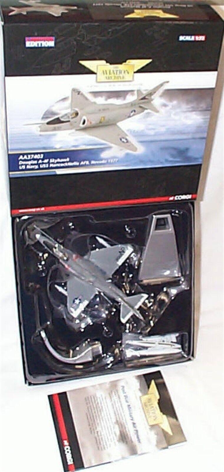 Douglas A-4F Skyhawk Us Nevada 1977 Corgi 1-72 scale aa37403 New in Box Ltd Ed