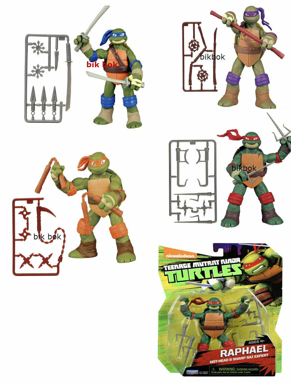 despacho de tienda Teenage Mutant Ninja Turtles 5    Acción Figura Rara Colección todas las figuras 4  opciones a bajo precio