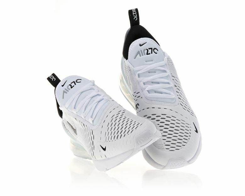 New Nike Air Max 270  Just Do It   Nike  AH8050 100- White Black