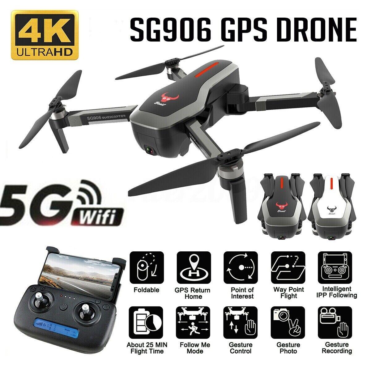 5G  WIFI FPV Drone 4K HD telecamera GPS Optical Flow Brushless Foldable RC Quadcopter  costo effettivo