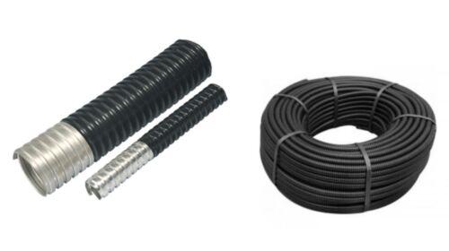 26 mm PVC couvert acier flexible conduit 11 mm 10 m et 50 m Rolls