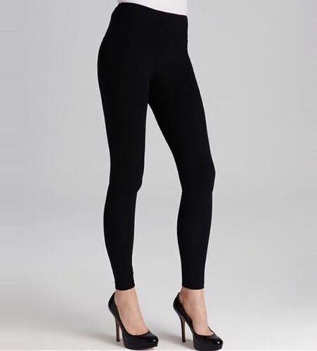 Ladies Winter Fleece Lined High Waist Warm Thermal Leggings Stretchy Ski Black