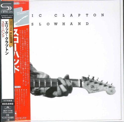 ERIC CLAPTON-SLOWHAND-JAPAN MINI LP SHM-CD Ltd/Ed F81