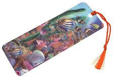 3D Lenticular bookmark - Tropical Fish bookmark Fishing