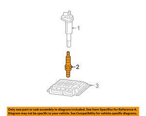 BMW OEM 07-10 328i 3.0L-L6 Ignition-Spark Plug 12122158253