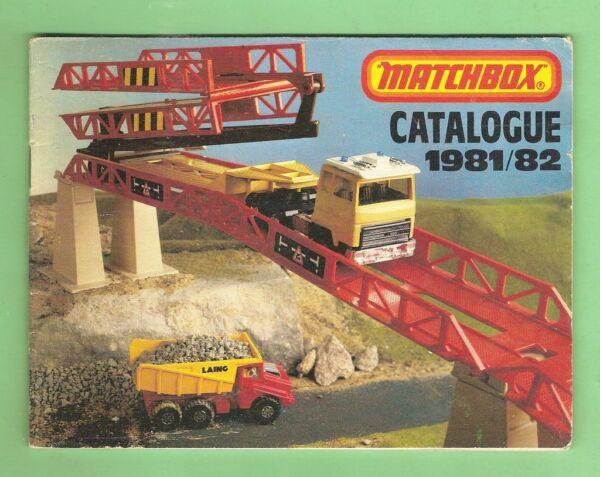 #D113. 1981/82 MATCHBOX TOYS CATALOGUE
