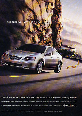 Classic Vintage Advertisement Ad D67 Racing 2009 Acura Advance