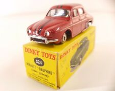 Dinky Toys F n° 24E Renault Dauphine en boite