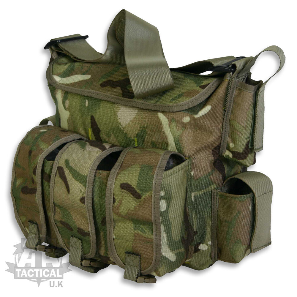 PLCE MTP MULTICAM ASSAULT BAG GRAB PATROL ARMY MILITARY SIDE ISSUE BAG