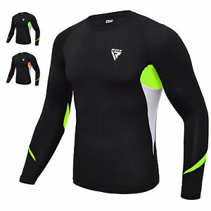 RDX-Rashguard-Baselayer-Funktionsshirt-Langarm-MMA-Kampfsport-BJJ-Sweatshirt-DE
