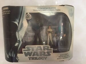 Star Wars ACTION FIGURES PRINCESS LEIA, SOLO, CHEWEY The Empire Strikes Back NIB