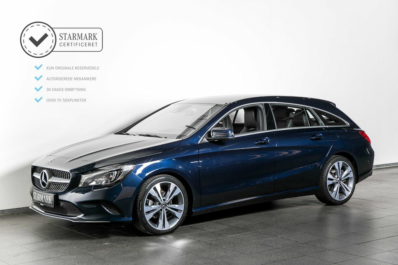 Mercedes CLA200 1,6 SB aut. 5d - 369.900 kr.