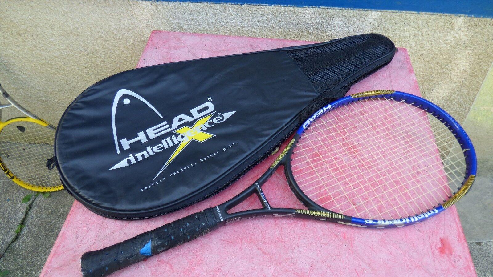 Raquette  de tennis Head Intelligence 1X extreme mid plus L3  Precio al por mayor y calidad confiable.