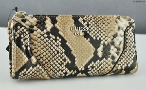 Details about Brand New Rare Collections GuEsS SLG Wallet Ladies GEORGIE Python Women