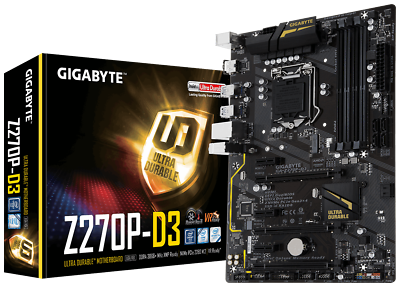 * Vb Best Offer * Gigabyte Ga-z270p-d3 Intel Socket 1151 * Top *- Le Materie Prime Sono Disponibili Senza Restrizioni