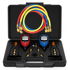 Elitech Pt 500amppt 800 Wireless Refrigeration Digital Manifold Gauge Set Hvac Ac