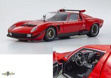 BRAND  NEW Lamborghini MIURA SVR Red  FULLY OPENING  Kyosho 1//18 KS08319R