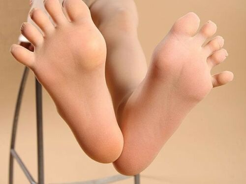 single toes 20 DENIER nylon separate five toes hose Sheer 5 Toe Glove Pantyhose