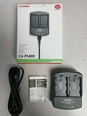 5D MK1,D60 DR-400 EOS 50D 40D 30D 20D Genuine Original CANON Charger,CA-PS400