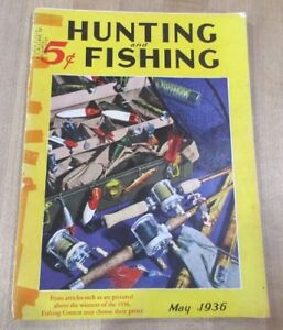 Peut 1936 Hunting & Fishing Magazine Par National Sportsman >-afficher Le Titre D'origine