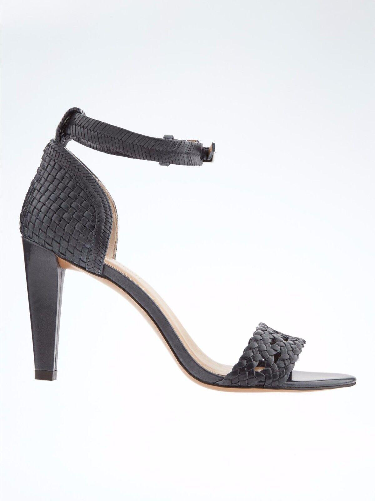 Banana Republic Woven High Heel Sandale, Blau SIZE 6.5    #590326 v4