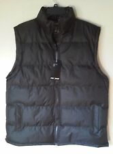 MEN'S NWT XL PRO X SPORT BLACK BUBBLE VEST SLEEVELESS COAT JACKET 100% POLY#142