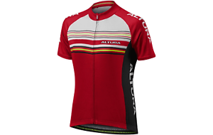 Femme Altura Strada 2 Ss Jersey Rouge Taille 8,14