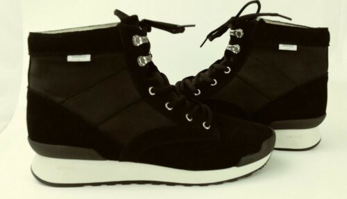 Zapatillas hombre Top Vibram Us de para High 8 deporte Zapatos 3214 Black New Suvsole Textile Suede tHOE7nqfO