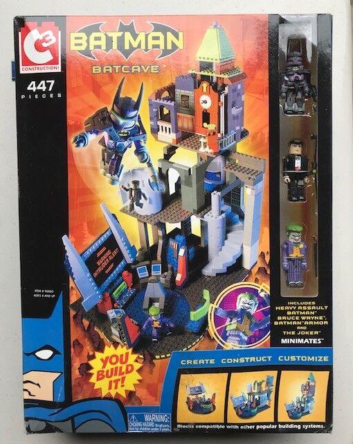Batman Batcave Batcave Set by C3 Construction 447 Pieces - Joker - Lego Suitable Item