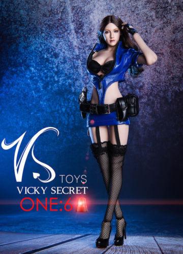 1 6 VSToys 18XG16B PoliceFrau Uniform Clothes Model Set F 12'' Female Figure