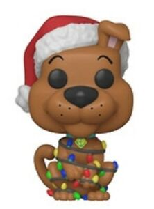 RARE-Scooby-Doo-655-Holiday-Funko-Pop-Vinyl-New-in-Mint-Box-Protector