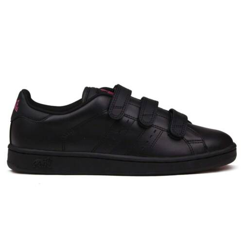 Lonsdale Womens Leyton Trainers Sports Shoes Court Strap Hook and Loop