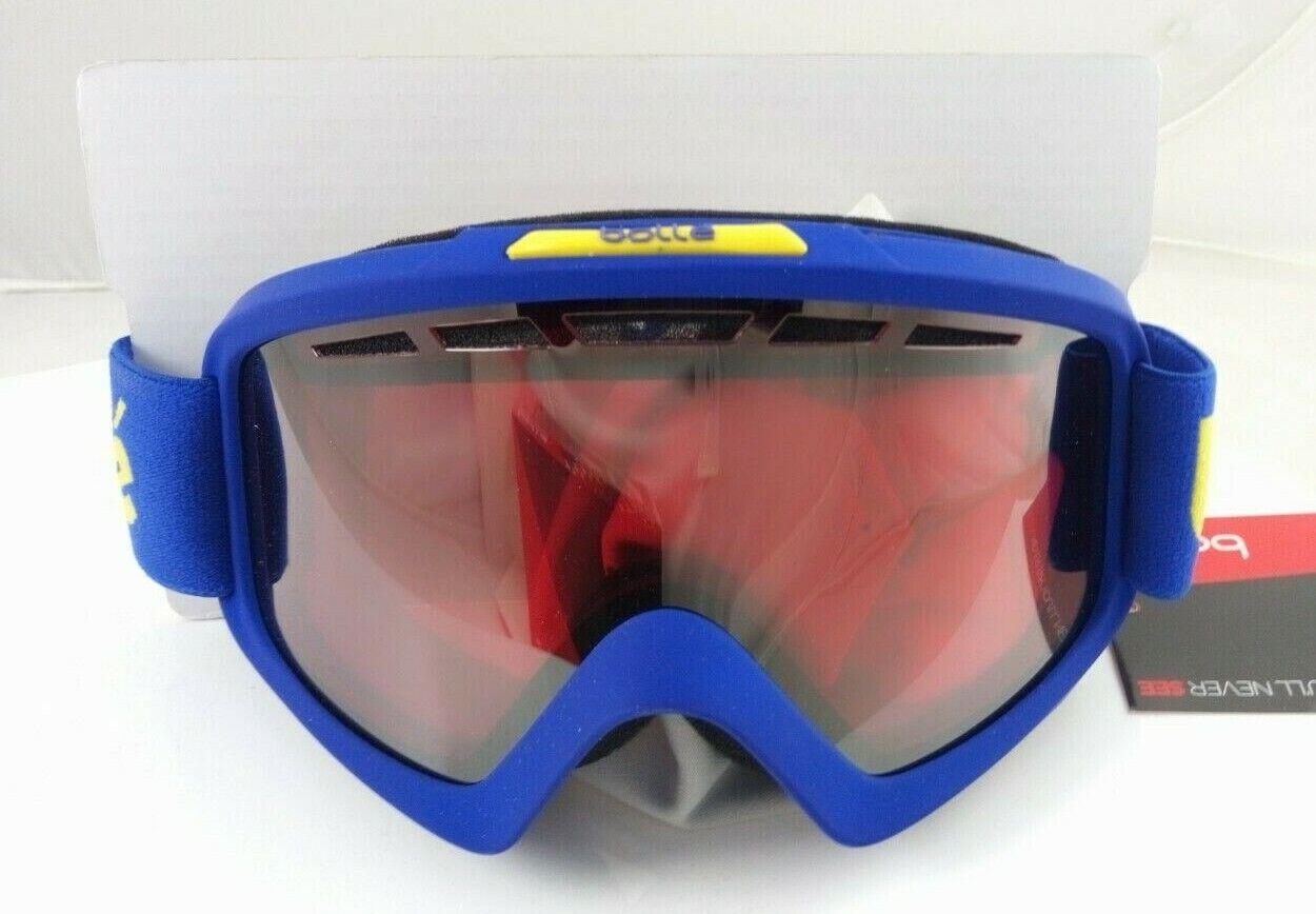 Ski goggles Bolle Nova II lens Vermilion Gun