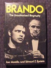 1973 BRANDO The Unauthorized Biography by Morella HC/DJ FVF/FN 1st Crown