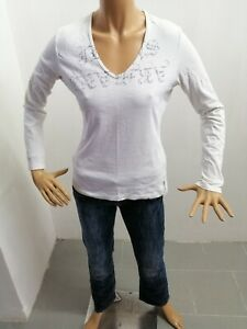 Maglia-ARMANI-JEANS-donna-taglia-size-42-sweater-pull-woman-P-6222