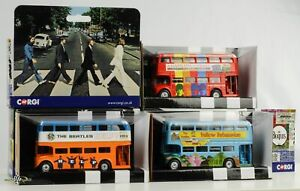 London-Bus-Beatles-Submarine-Help-A-Hard-Days-Night-Set-3-Pcs-1-64-Corgi