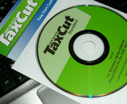 2012 TaxCut DELUXE Federal turbo H/&R Block Tax Cut New sealed CD in Box!