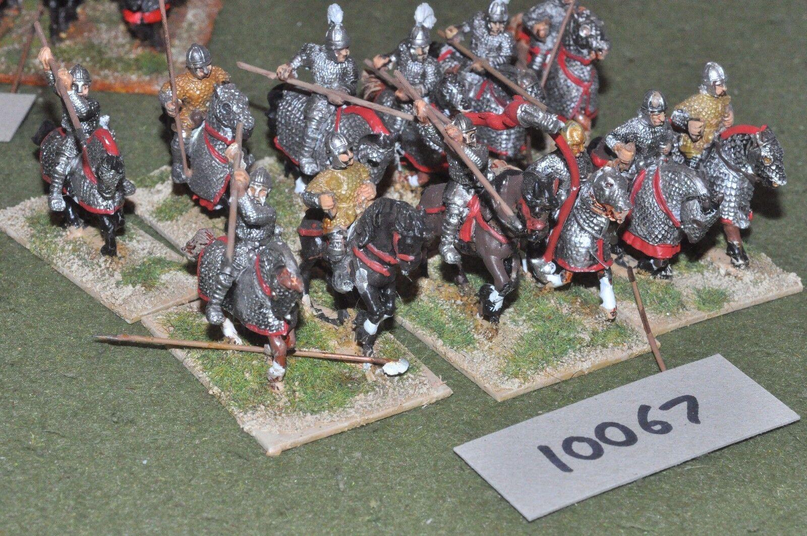 25mm roman era   roman - late cavalry 12 - cav (10067)