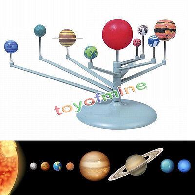 Intelligence Sunlight Plastic Solar System Celestial Bodies Planets Mode Toy New